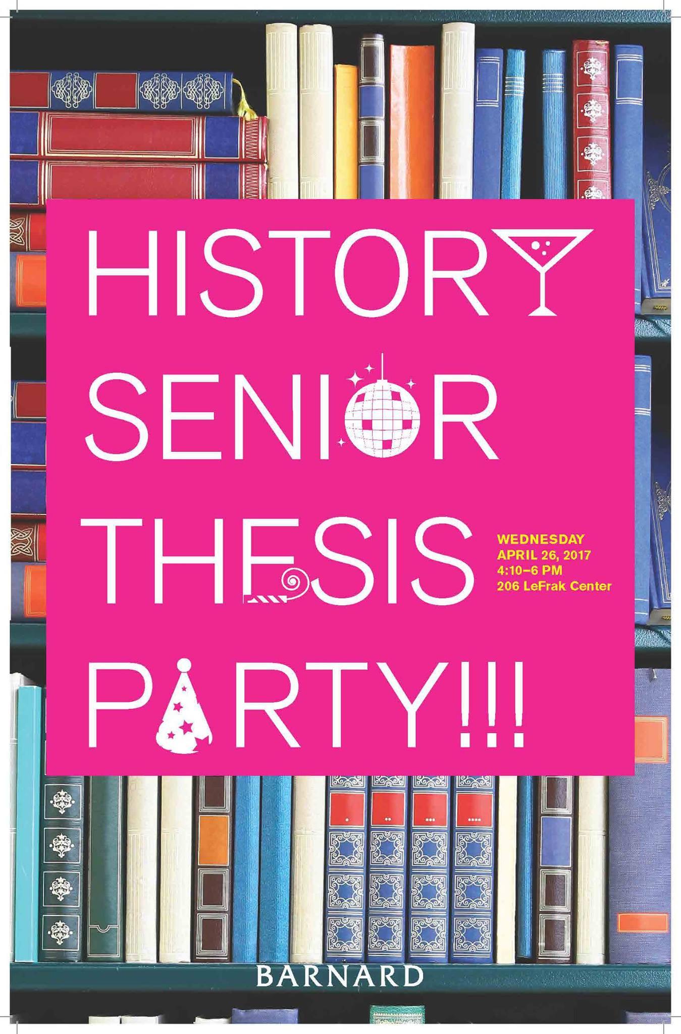 Dissertation party